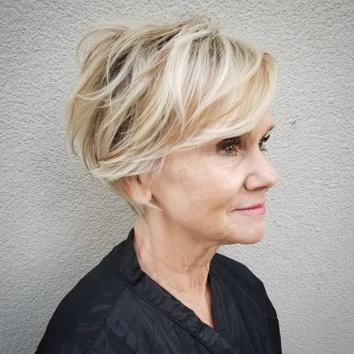 Undercuts are beautiful and low maintenance. 26 Best Short Haircuts For Women Over 60 To Look Younger