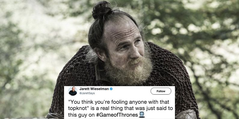 Try not to laugh as you watch these 'daily' dank meme videos.if you laugh you lose. Game Of Thrones Top Knot Joke Game Of Thrones Top Knot Reactions
