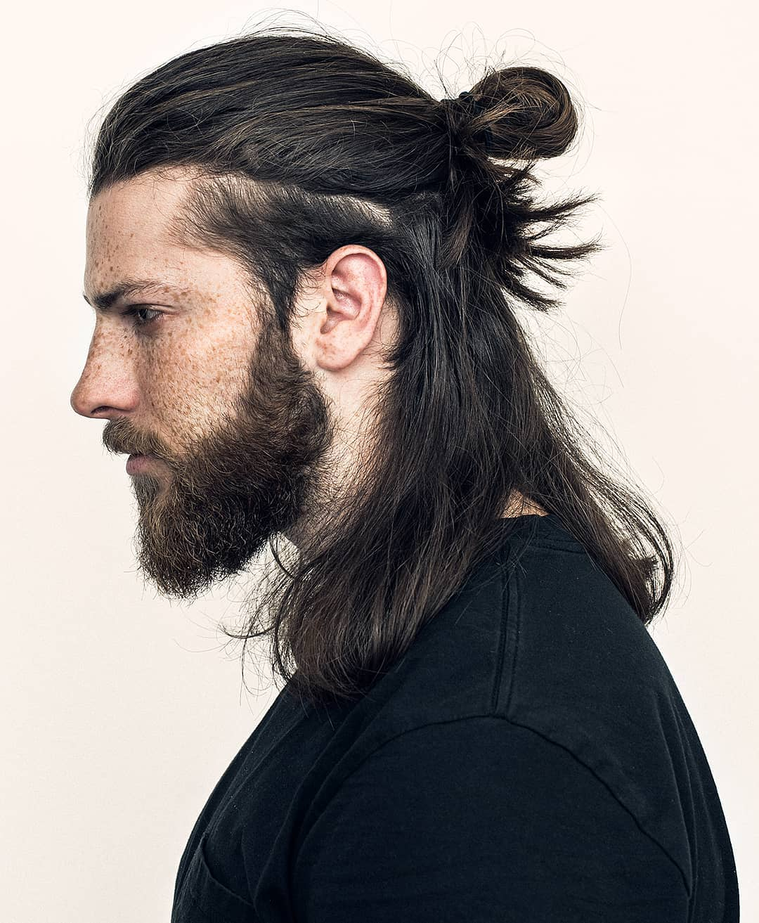 All you need to do is pull your long wavy hair into a messy, swirly bun and ready to go out. 12 Best Man Bun Fade Hairstyles Men S Hairstyles Haircuts