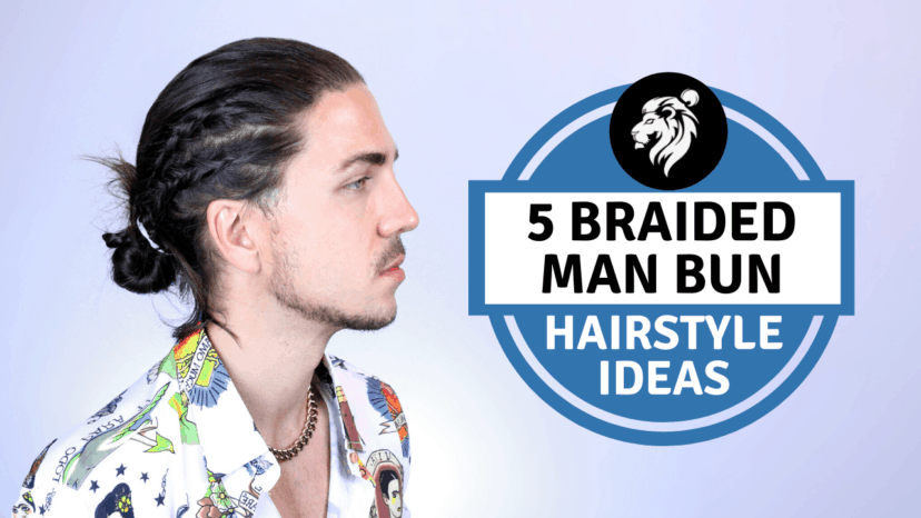 Guys even have the option of styling their man bun into a top knot or pairing it with a beard for a cool look. Man Bun Braid Styles For Men With Long Hair Man Buns Manes