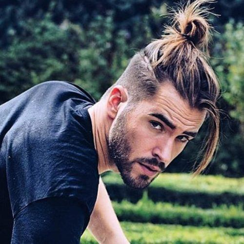 Anyone with curly or wavy hair can easily recreate this look. 12 Best Man Bun Fade Hairstyles Men S Hairstyles Haircuts