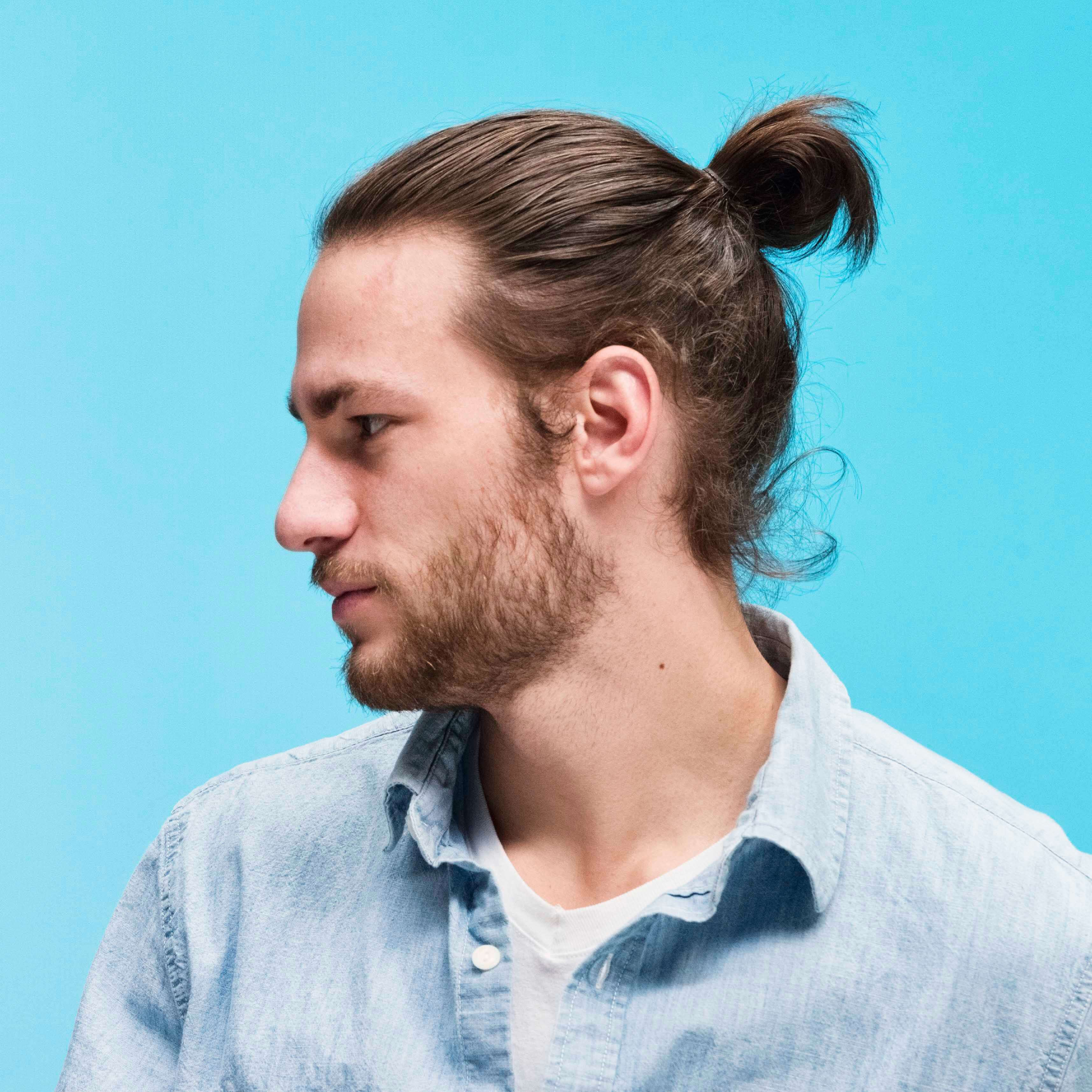 The first step is to identify the spot where you're going to form the man bun. How To Grow A Man Bun In 6 Steps Men S Hairstyle Guide