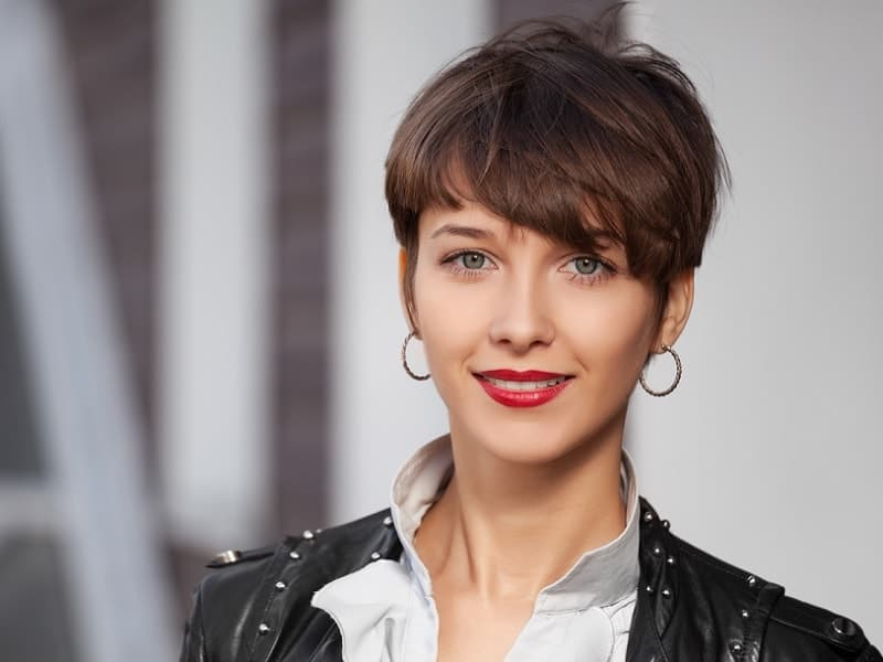 Go short or go home (but don't actually leave—we love you). 25 On Demand Thick Pixie Cuts For Women