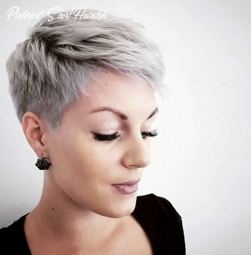 If you're looking to be a little edgier, why not rock an undercut? 10 Pinterest Short Hairstyle Undercut Hairstyle