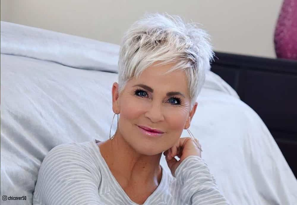 These clients can rock anything from a very short pixie and tiny fringe to textured locks. 17 Trendiest Pixie Haircuts For Women Over 50