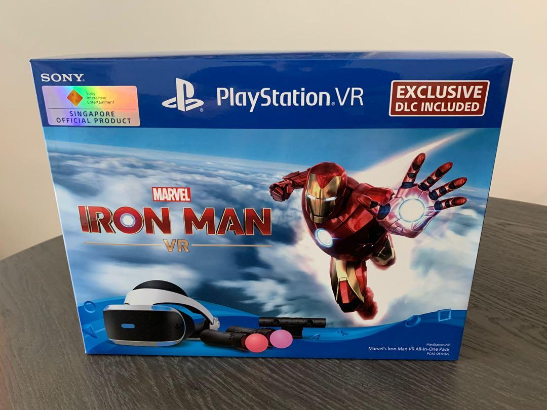Version ii is a simplified version for a 24″, 36″, and 48″ form using framing lumber. Playstation Vr Iron Man Bundle Boxed Like New Video Gaming Gaming Accessories On Carousell