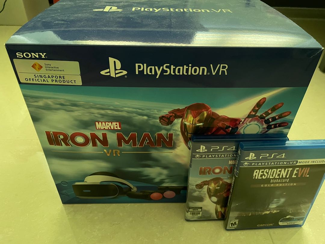 Roblox, the roblox logo and powering imagination are among our registered and unregistered trademarks in the u.s. Ps Vr Iron Man Bundle 2nd Gen Video Gaming Gaming Accessories On Carousell