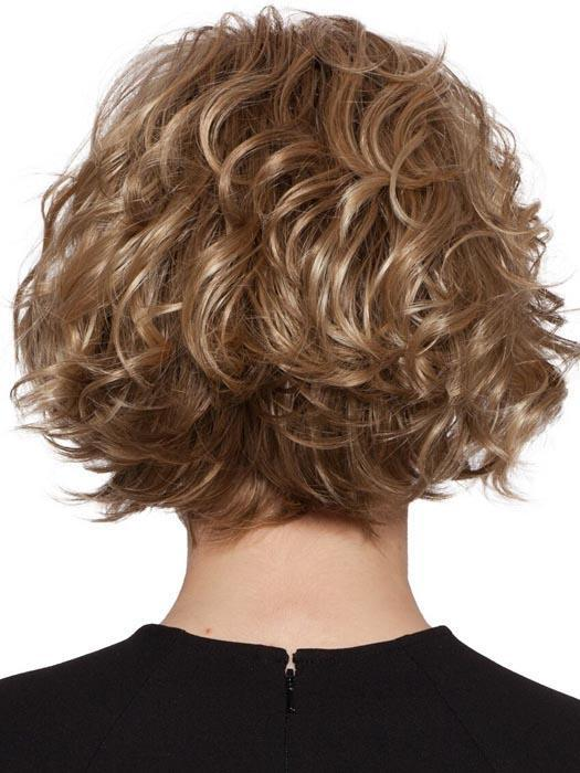 Short layered style with soft curls and a long off center bang. Liana By Wig Pro Synthetic Wig Wigoutlet Com Sale 50 Off Wigoutlet Com