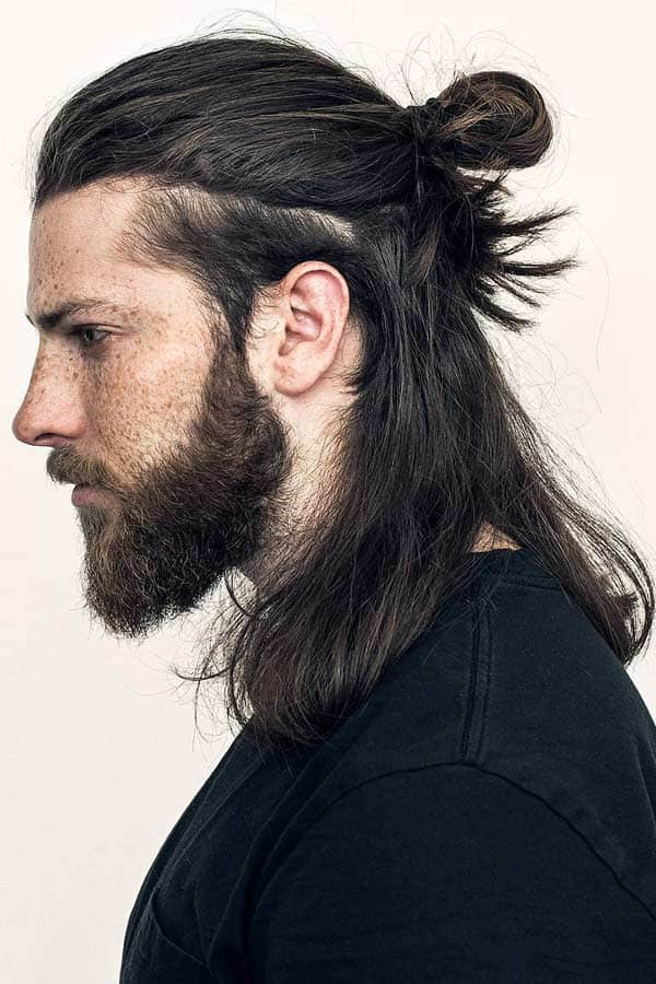 """Many of these men are sporting """"chonmage"""" or as they are more colloquially known: Samurai Hair Ideas For Significant Looks Mens Haircuts"""