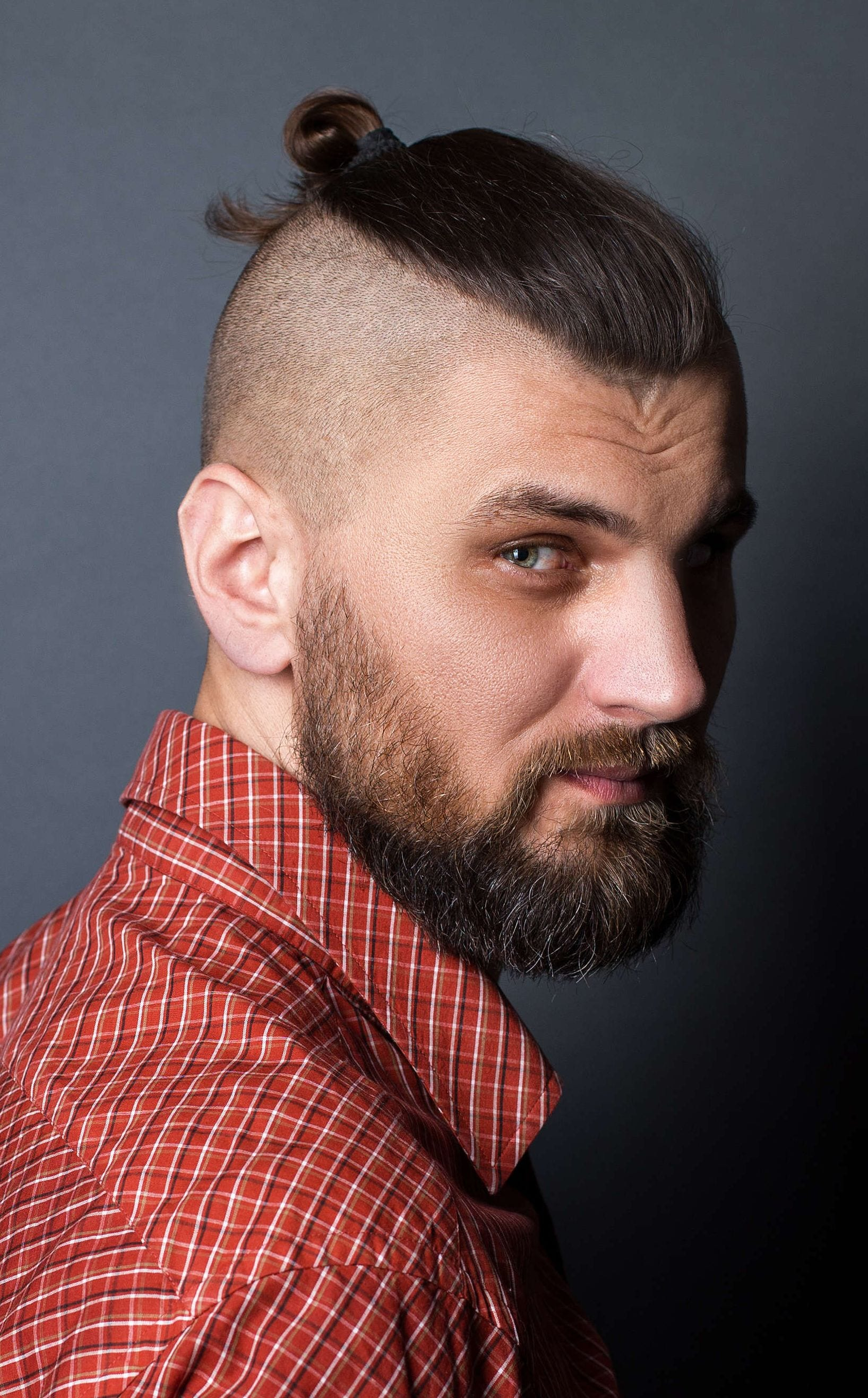 As the name suggests, a top knot is situated on top of your head, usually in the center. The Top Knot Hairstyle Visual Guide For Men 7 Different Styles