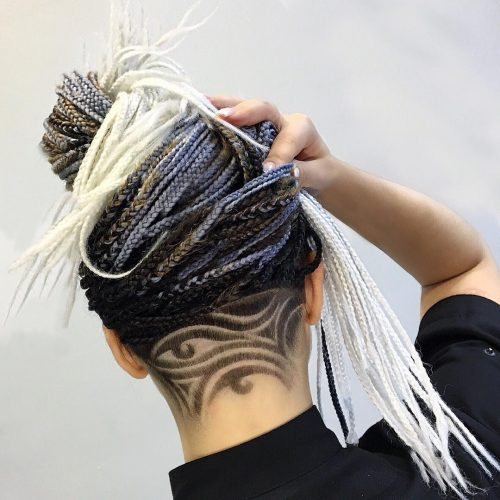 For example, dye the pattern into a different color than the hair… The 22 Coolest Women S Undercut Hairstyles To Try In 2021