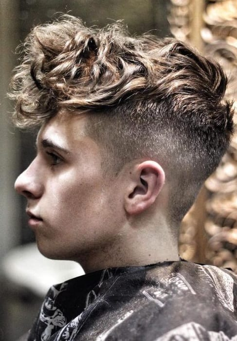 See more ideas about hairstyle, curly undercut, curly hair styles. 2 Combinations For Men To Try With The Curly Undercut Hairstyle