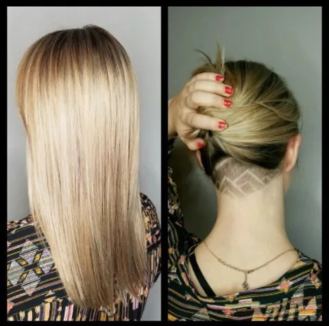Hair cut is a way to express yourself and one of the best ways to do so is by choosing an undercut women long design. 30 Hideable Undercut Hairstyles For Women You Ll Want To Consider Glamour