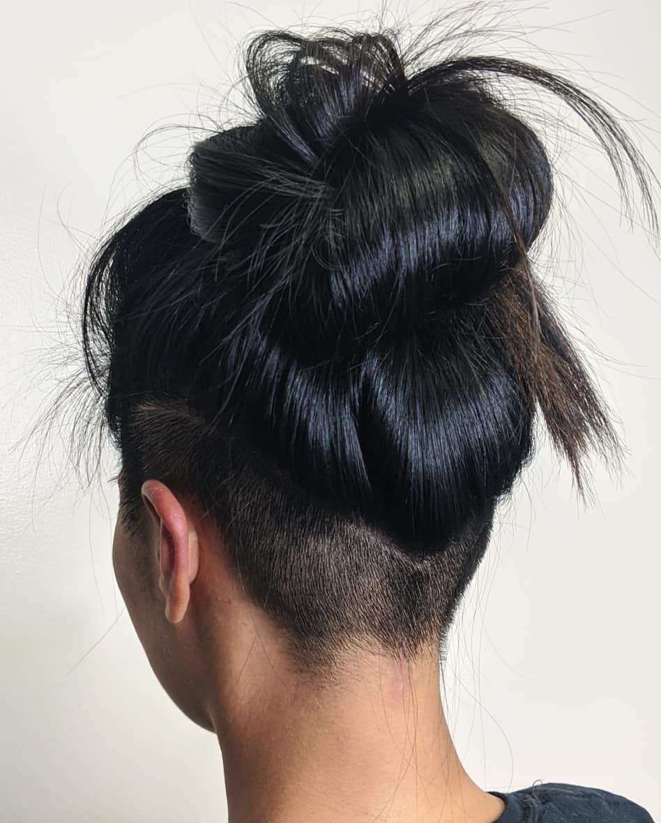 Styles that stay above the shoulders add dimension, class, and fun, and there are so many to choose from, whatever your age. 40 Hot Undercuts For Women That Are Calling Your Name Hair Adviser
